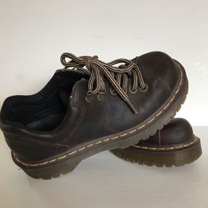Dr. Martens 8312 brown leather shoes